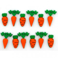 "ПУГОВИЦЫ DRESS IT UP ""CARROT CROP"" 3501"