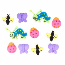 "ПУГОВИЦЫ DRESS IT UP ""BUGS"" 588"