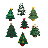 "ПУГОВИЦЫ BUTTONS GALORE ""CHRISTMAS TREES"""