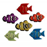 "ПУГОВИЦЫ BUTTONS GALORE ""EXOTIC FISH"" FN102"