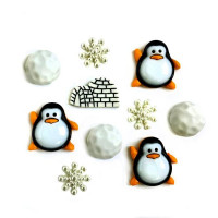 "ПУГОВИЦЫ. BUTTONS GALORE. ""PENGUIN PALS"" 4819"